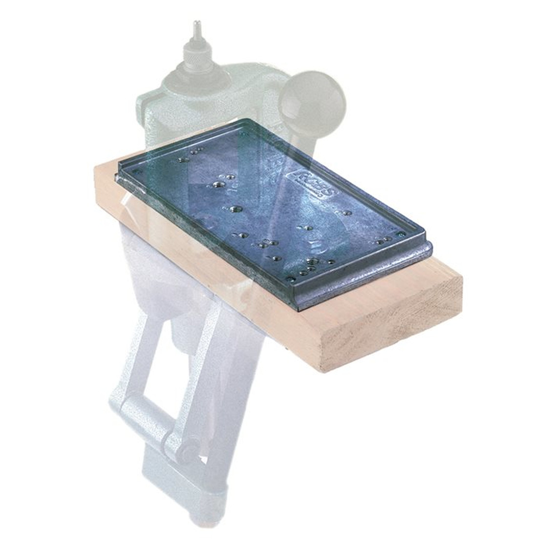 RCBS Accessory Base Plate-3 Grey